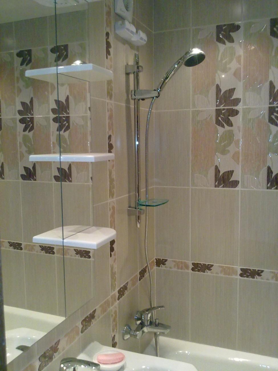 Ремонт в ванной  установка ванной 115