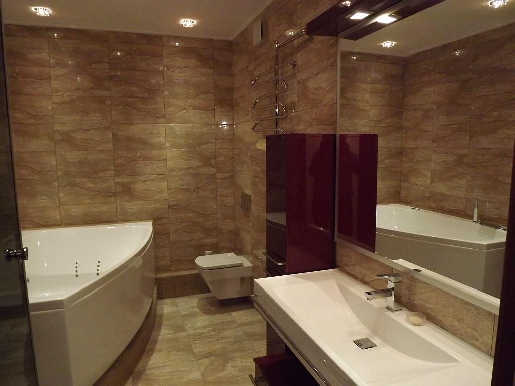 Ванная комната с нуля в новостройке своими руками